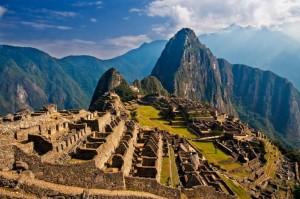 Мачу Пикчу - город инков в Южной Америке