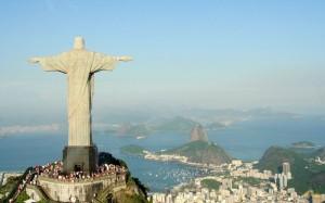 Статуя Христа Спасителя в Рио-де-Жанейро