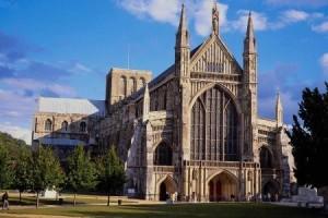 Винчестерский собор в Англии