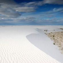 Фарфоровая пустыня на юге США