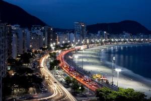 Пляж Копакабана – самый красивый пляж в Рио-де-Жанейро