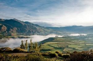Долина каньона Колка в Перу