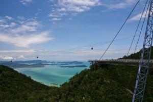 Экзотический небесный мост Лангкави