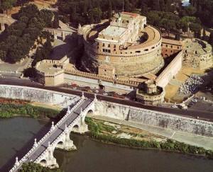 Замок Святого Ангела – фото сверху